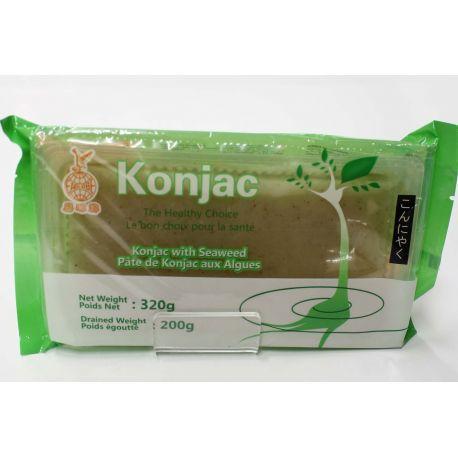 Pâtes de konjac aux algues