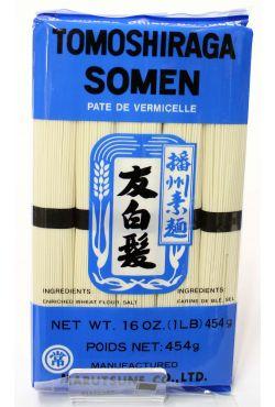 Nouilles Japonaises de blé Tomoshiraga Somen - 454 g