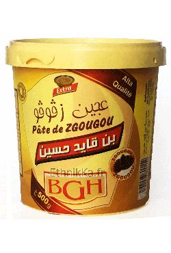 Assidat Zgougou pâte de pin D'Alep