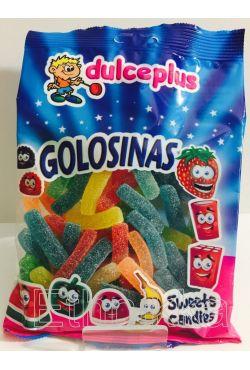Bonbons halal Frites acidulées Dulceplus 300 gr