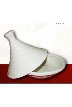 Tajine, Saucière, sucrière, bonbonnière en porcelaine