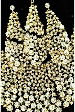 "Parure dorée d'Inde ""Golden treasure"""