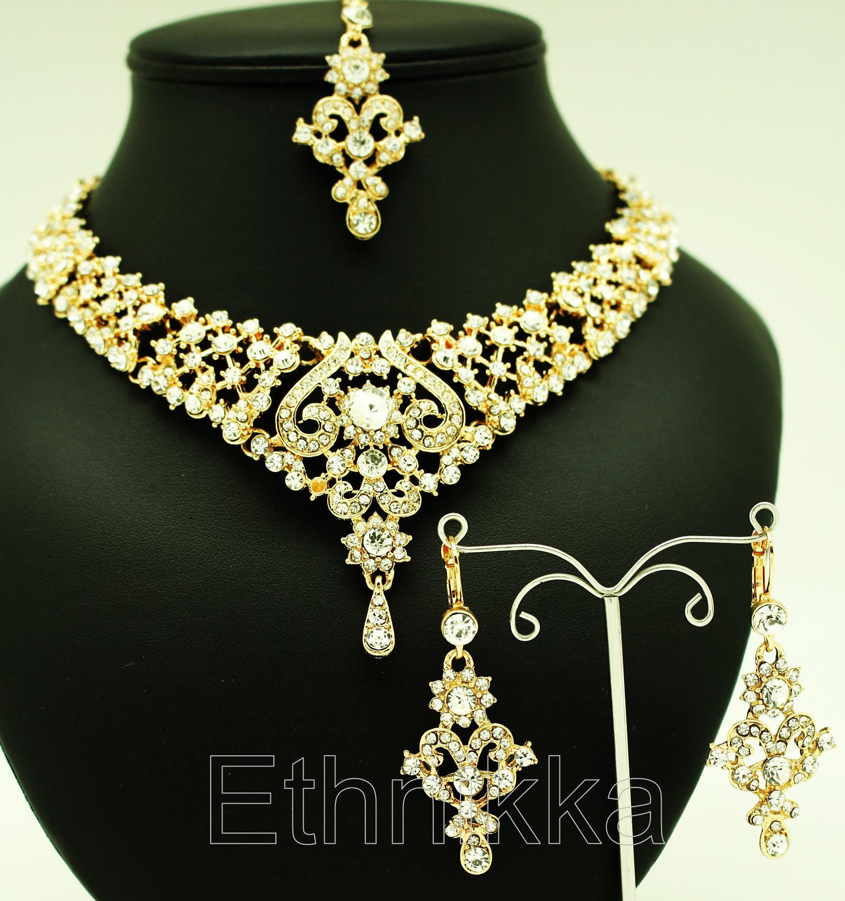 Parure bijoux indiens pas cher b89b1f0c6124