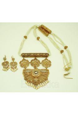 Parure bijou oriental perles