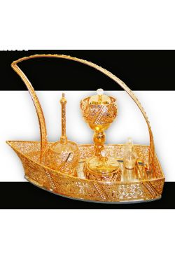 Kit M'rach Barque Encensoir argenté ou doré