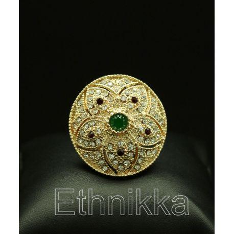 Bague ottomane plaqué or
