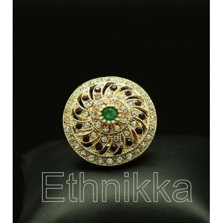 Bague orientale ottomane plaqué or