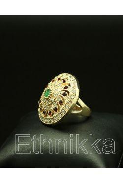 Bague oriental ottomane plaqué or