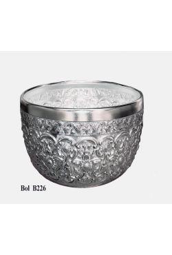 Bol thailandais en aluminium ciselé