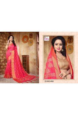 Vêtement hindou rose et doré