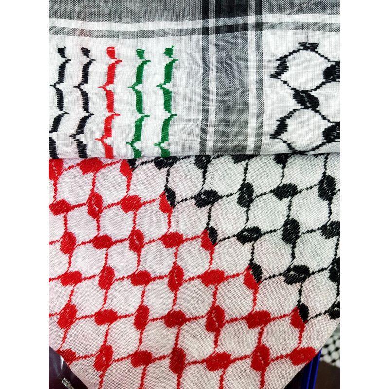 acheter keffieh rouge et noir foulard palestinien. Black Bedroom Furniture Sets. Home Design Ideas