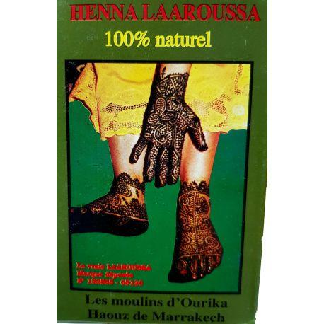 Henna Laaroussa naturel du Maroc