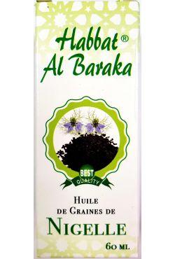 Huile de nigelle (Habba sawda) 60ml