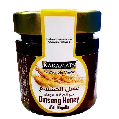 Miel de nigelle au gingembre