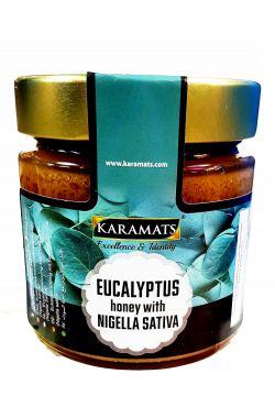Miel de nigelle et eucalyptus
