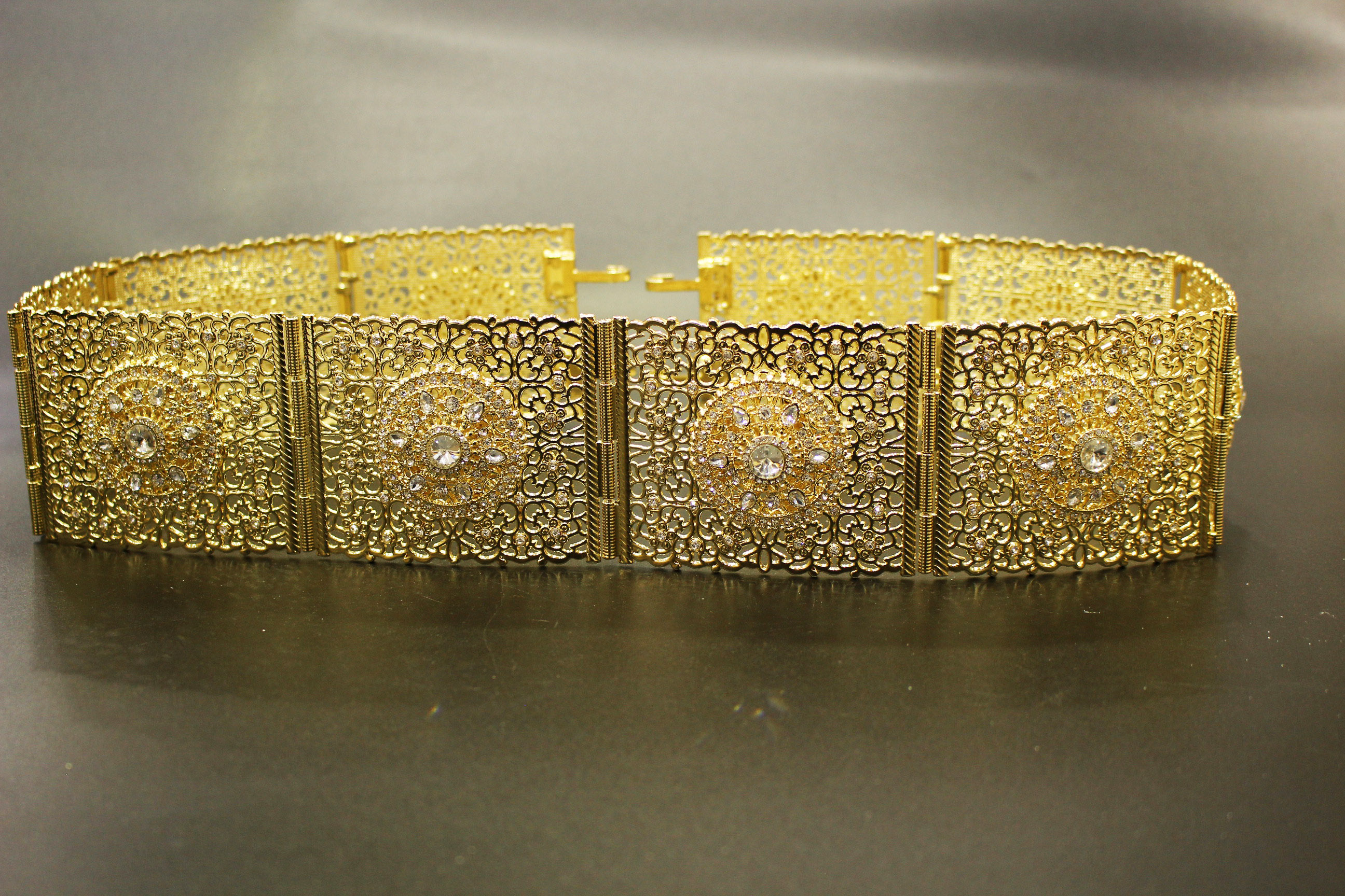 Acheter bijou oriental ceinture en plaqué or en filigrane 611aa40b4f6
