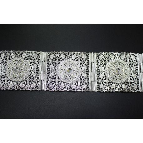 Promotion Ceinture oriental bijou en plaqué or et orné de strass 1492a63e4fb