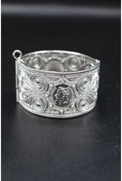 Bracelet filigrane en argent