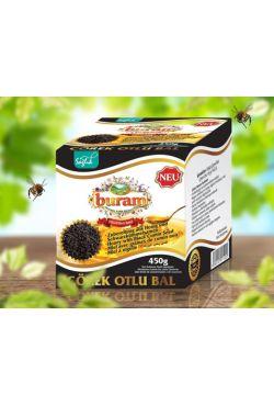 Miel aux graines de cumin noir - BURAM