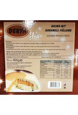 Halva nature vanille caramel - Buram