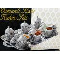 Service à thé turc verres et deux sucrières