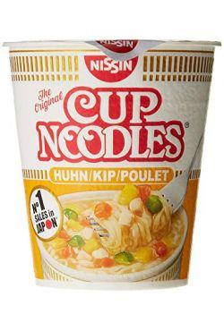 Soupe instantanée NISSIN CUP poulet 63g