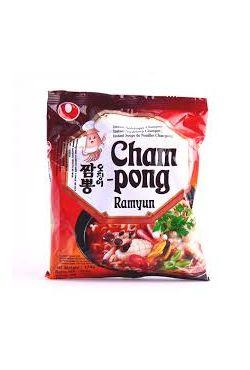 Soupe instantanée CHAMPONG RAMYUN fruits de mer Nongshim 124g