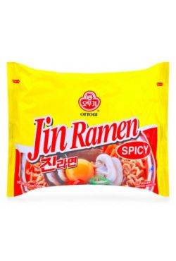 Soupe JIN RAMEN OTTOGI épicée 120g