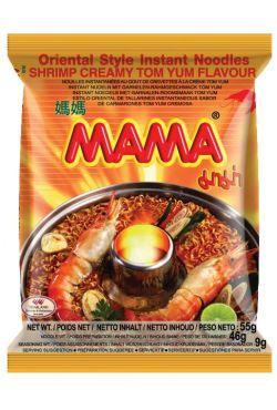 Soupe instantanée crémeuse crevettes TOMYUM MAMA 60g