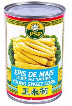 Epis de maïs jaune au naturel 425G