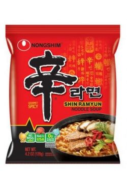 Soupes Nouilles instantanées Shin Ramyun Nongshim 120g