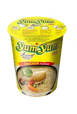 Nouille instantanée Yum yum en bol poulet 70g