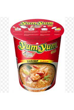 Nouille instantanée Yum yum en bol crevettes 70g