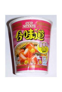 Soupe instantanée Nissin crabe en boite 75g