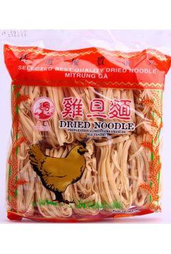 Nouilles de blé séchées larges Mi Trung Ga 454 gr