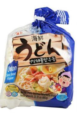 Nouilles Udon arôme fruits de mer 3x220g.