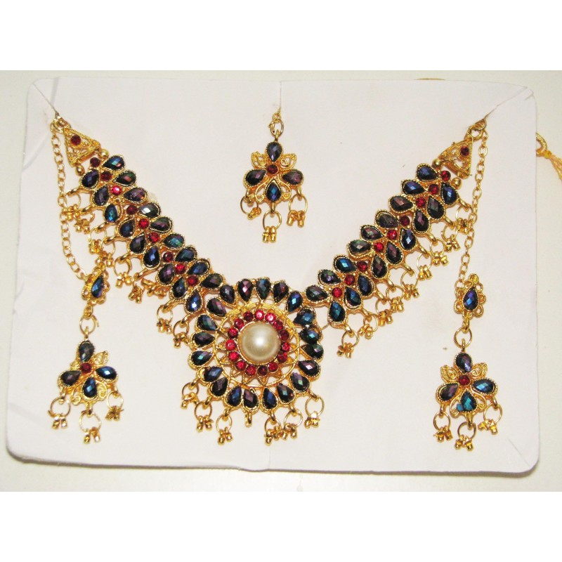 Achat bijoux indien parure pour enfant pas cher - Presentoir a bijoux pas cher ...