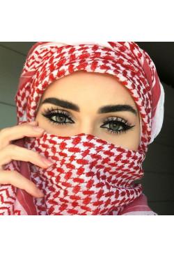 Foulard shemagh femme et hommes, foulard arabe