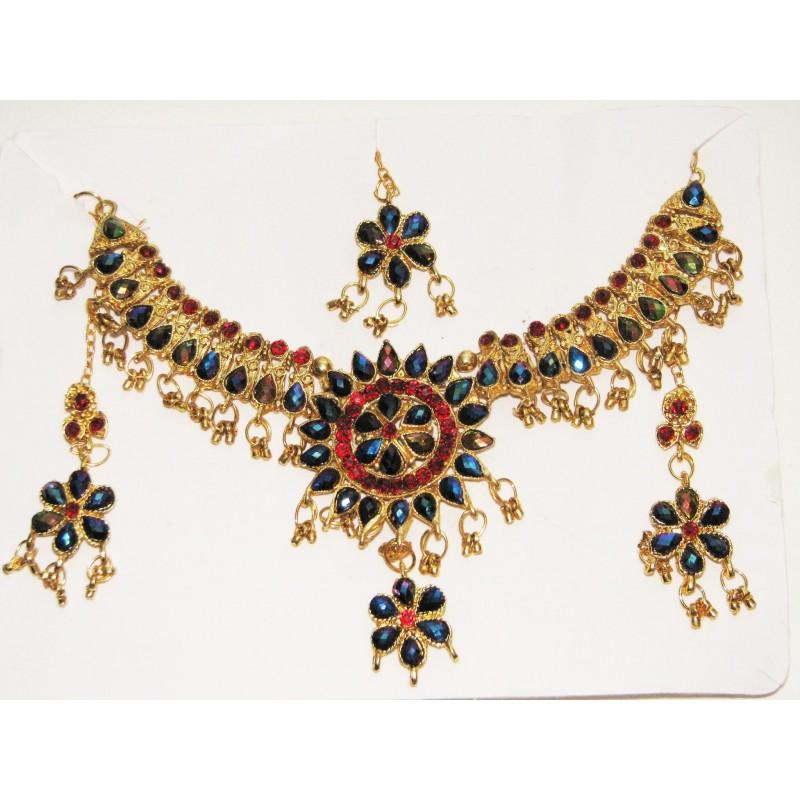 Bijoux indien parure pour enfant pas cher fbecb318d5ca
