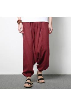 INCERUN – pantalon sarouel pour hommes, Streetwear Hip-hop, bas de jogging en coton, jambes larges, Chic, ample