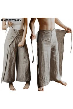 Pantalon de pêcheur thaïlandais pour hommes et femmes