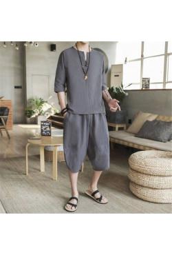 Sarouel et T-shirt à manches courtes Tang