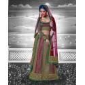 Robe indienne multicolore brodée à la main