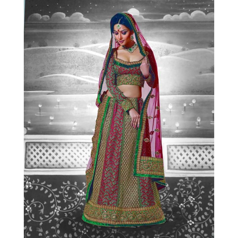 Souvent Robe indienne multicolore RI92