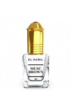 El Nabil parfum Musc Brown