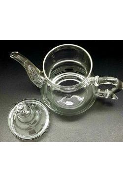 Théière marocaine en verre