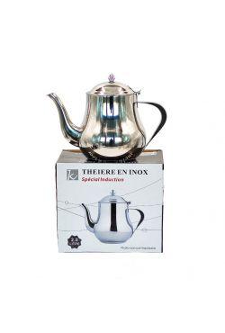 Théière induction en inox 1 litre