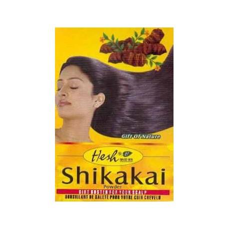 Hesh Shikakai - shampoing masque 100% naturel - anti-pelliculaire - favorise la repousse des cheveux