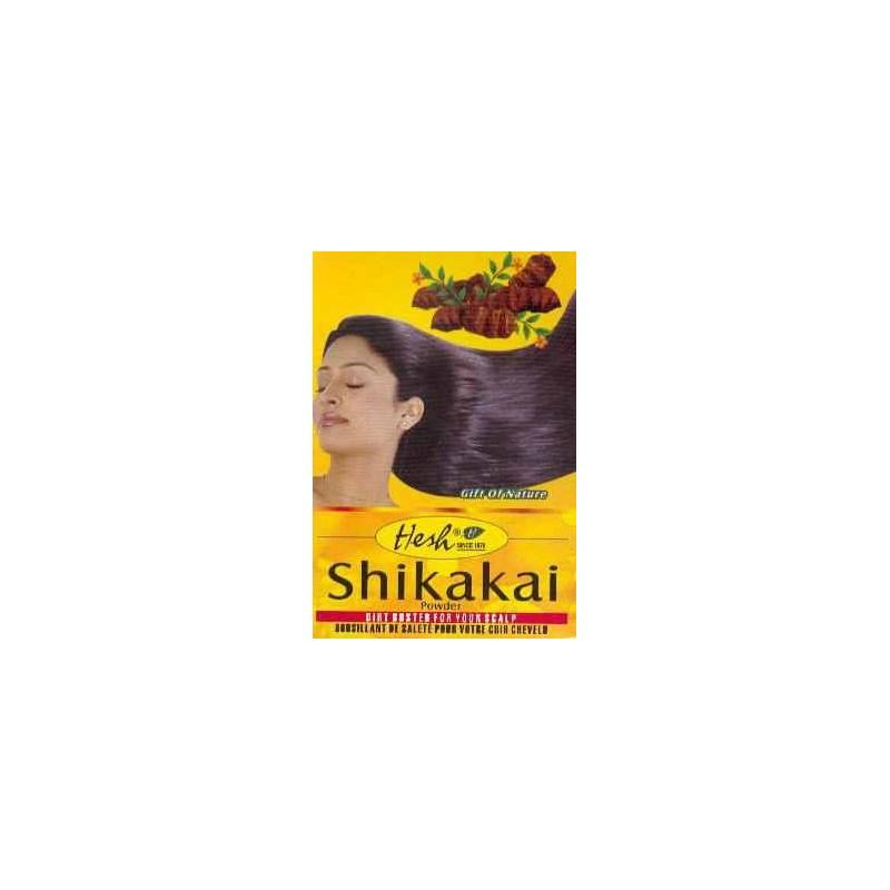 Hesh shikakai shampoing naturel for Antipelliculaire maison