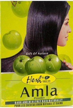 Hesh Amla masque shampoing 100% naturel favorise la repousse
